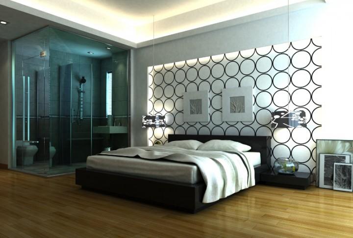 Dekoracja na cian w sypialni galeria strona 7 for Idee deco chambre contemporaine
