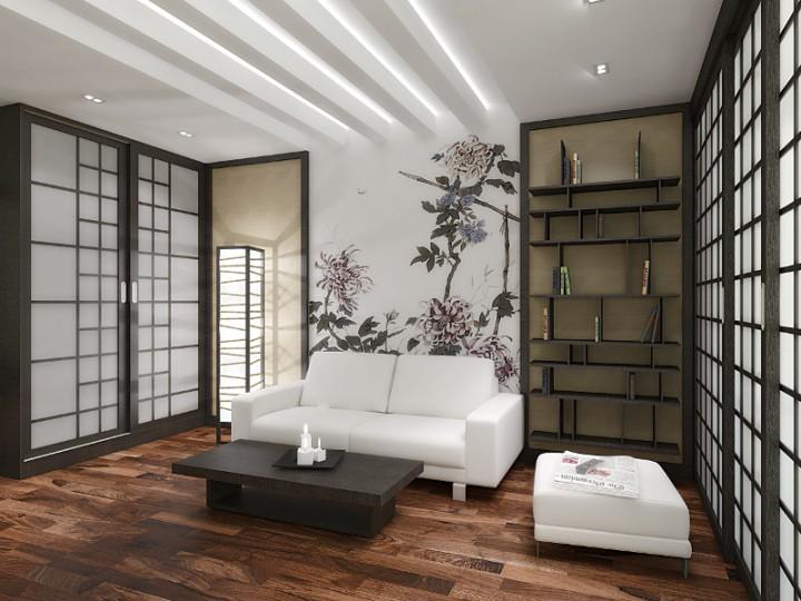 wnętrza w japo�skim stylu galeria style projektowanie