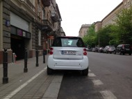 Smart ForTwo ED tył