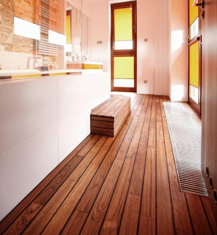 Drewno W łazience Wykończenie Wnętrz Budowa I Remont